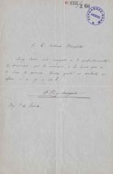 Cartas de Francisco Pi y Margall a Arthur E. Houghton.