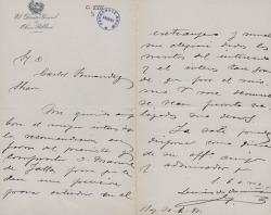 Cartas de Luis de Armiñán a Carlos Fernández Shaw.