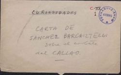 Carta firmada por ¿S? y dirigida a ¿S?.