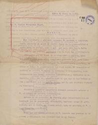 Cartas de Gabino Martínez a Carlos Fernández Shaw.