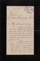 Cartas de Julio Betancourt a Carlos Fernández Shaw.