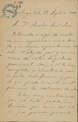 Cartas de Francisco de Cortejarena a Carlos Fernández Shaw.
