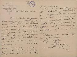 Cartas de Eduardo G. Gereda a Carlos Fernández Shaw.