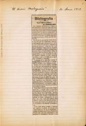 Cuaderno 15 (1909). Artículos, fotos y criticas sobre Carlos Fernández Shaw y su obra.
