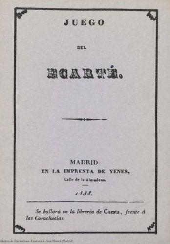 Book : Juego del ecarté