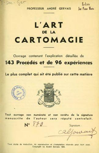 Book : L'art de la cartomagie : ouvrage contenant l'explication détaillée de 143 procédés et de 96 expériences