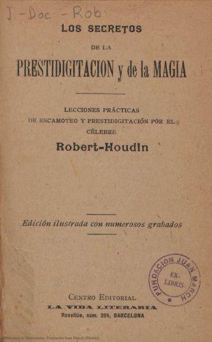 Libro : Los secretos de la prestidigitación y de la magia