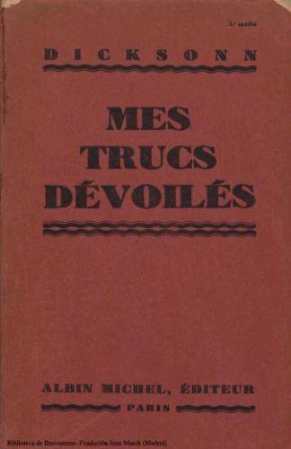 Book : Mes trucs dévoilés