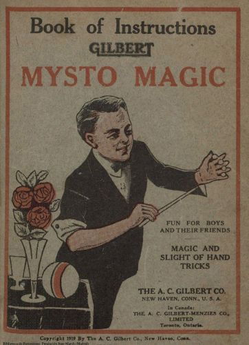 Book : Mysto magic