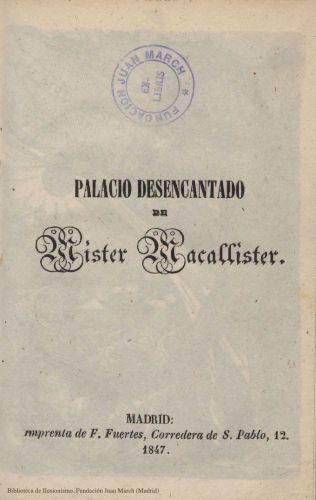 Book : Palacio desencantado