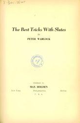 Ver ficha del libro: THE BEST TRICKS WITH SLATES