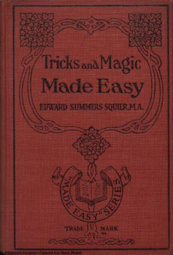 Book : Tricks and magic made easy