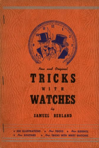 Book : Tricks with watches : new and original effects