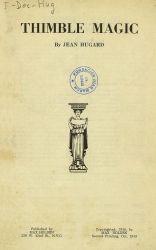 See book details: THIMBLE MAGIC