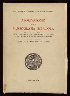Aportaciones a la museografía española