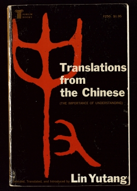 Translations from the Chinese