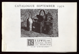 Twentieth anniversary catalogue, 1952-1972
