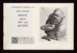 19th century prints about art and artists