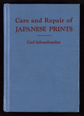Care and repair of Japanese prints