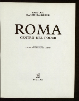 Roma, centro del poder