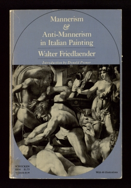 Mannerism and Anti-Mannerism in Italian painting