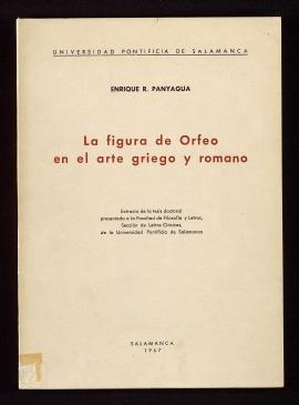 La Figura de Orfeo en el arte griego y romano