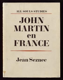 John Martin en France