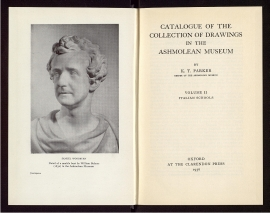 Catalogue of the collection of drawings in the Ashmolean Museum