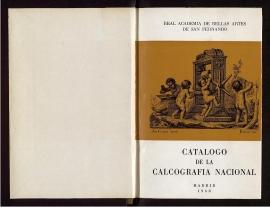 Catálogo de la calcografía nacional