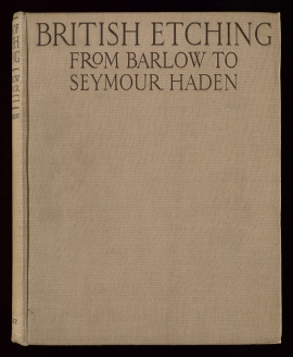 A Book of British etching