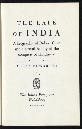 The Rape of India