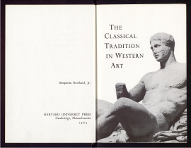 The Classical tradition in Western art