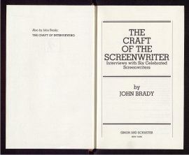 The Craft of the screenwriter