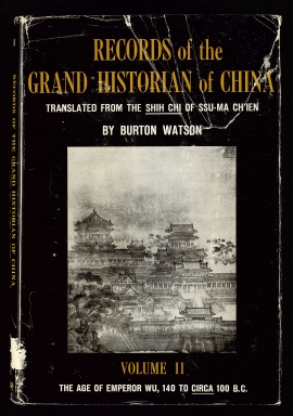 Records of the grand historian of China