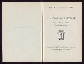 El Señorío de Valverde
