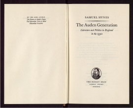 The Auden generation