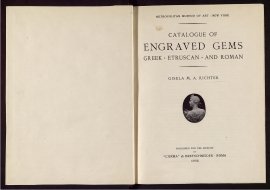 Catalogue of engraved gems