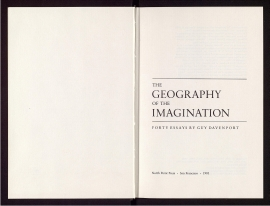 The Geography of the imagination