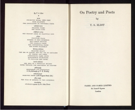 On poetry and poets