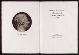 Manuale tipográfico, 1788