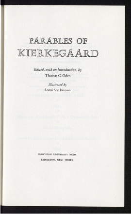 Parables of Kierkegaard