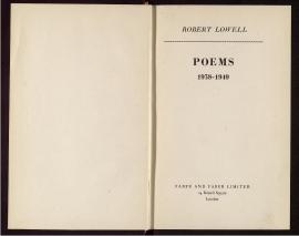 Poems, 1938-1949