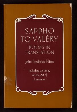 Sappho to Valéry