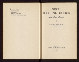 Such Darling dodos and other stories