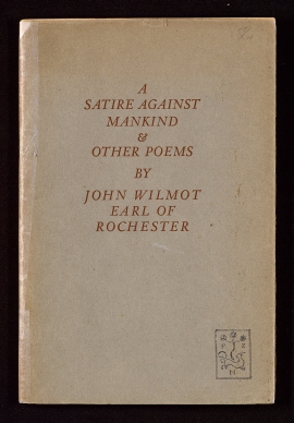 A Satire against mankind and other poems