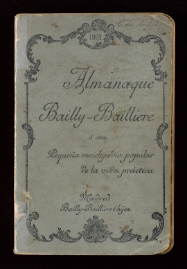 Almanaque Bailly-Bailliere 1901