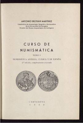 Curso de numismática