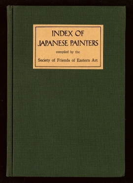 Index of Japanese painters